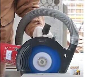 Absaughaube-Staubabsaugung-Air-Duster-Winkelschleifer-115-125-230mm-MECHANIC