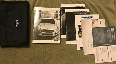 ford fusion owners manual set  case ebay