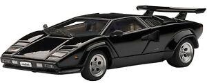 Aut54532 - Voiture De Sport Lamborghini Countach 5000s Couleur Noire 1/43
