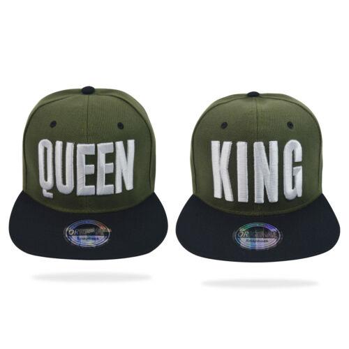 Gogo Snapback Cap Baseball Cappuccio Basecap King /& Queen Berretto BASEBALLCAP Berretti