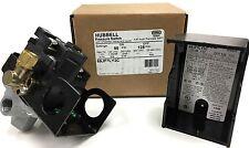 Furnas Hubbell Siemens Pressure Switch 4 Port 95 125 Psi 115 230 Volt New Oem