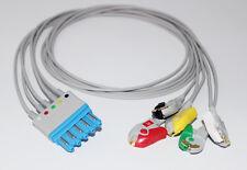 Philips Hp M1971a Compatible 5 Lead Ecg Leadwire Pinch Iec G521ph