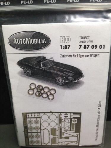 HO 1//87 AutoMobilia DE # 7870901 Transkit Jaguar E-Type  Detail Parts