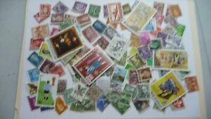 2132-lot-100-timbres-seconds-plusieurs-pays