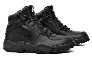 Nike-Rhyodomo-Black-BQ5239-001-Water-Resistant-Leather-Boots-Men-039-s-Multi-Size