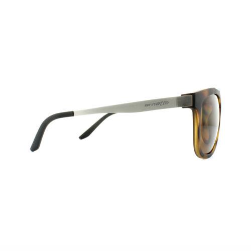 Arnette lunettes de soleil tournant 4232 237583 havane brossé gunmetal brown gradient