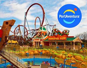 Spain port aventura travel souvenir fridge magnet ebay - Vente privee port aventura ...