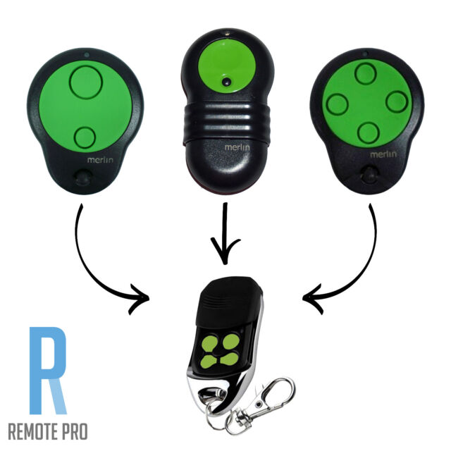 Garage Door Transmitter Replacement for 230T 430R 2 PACK M832 Merlin Remote