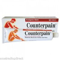 Counterpain Hot Balm - Muscular, Back Pain - Warm Muscle Rub 120g Tube