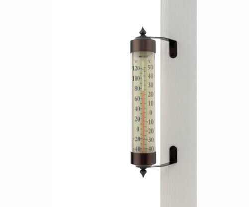 Thermometers Conart Brass /& Copper Conart Home /& Garden Decor