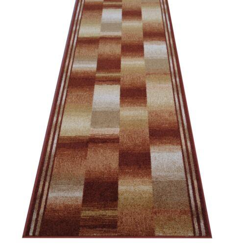 "Velours Teppich Bettumrandung /""BOSTON/"" 3 teilig rutschfest 67 cm breit"