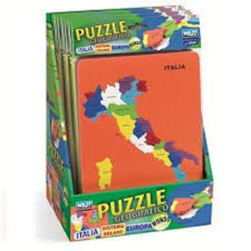 puzzle didattico in gomma eva atossica geografia italia per imparare le regioni