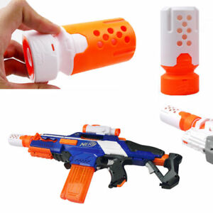 Image is loading Nerf-Elite-Modulus-Proximity-Silencer-Barrel-Extension- Attachment-