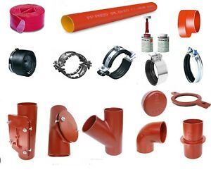 SML-Rohr-50-70-80-100-125-150-200-1m-3m-lang-Abzweig-Bogen-Reduzierung-Konfix