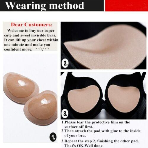 2020 Bikini Chest Pad Push Up Padded Padding Paste Invisible Bra Sponge
