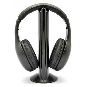 5-en-1-Casque-Stereo-Sans-Fil-RF-Ecouteurs-Hi-Fi-Radio-FM