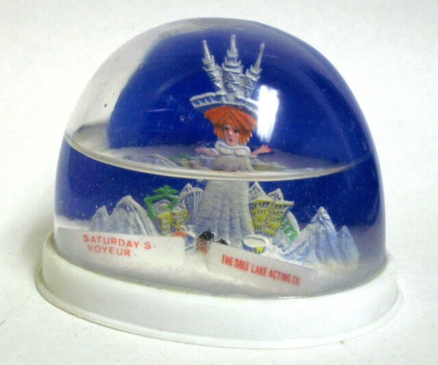 Salt Lake City Utah Snow Globe