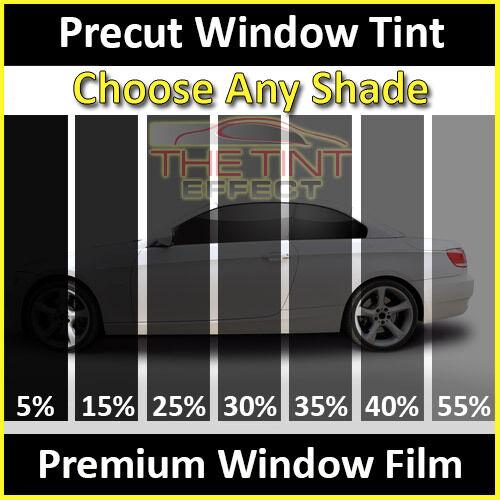 Fits 2014-2018 Silverado 1500 Double Cab Precut Window Tint Premium Film Front