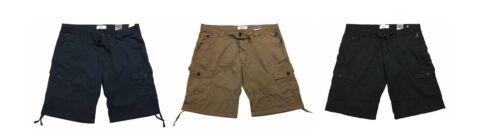 Kangol puro cotone Relaxed Fit Pantaloni Corti con Tasconi in vita 42 a 54 pollici 3 opzioni