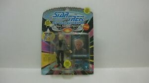 Star Trek The Next Generation Admiral McCoy Figure & Collector's Card NEW t70