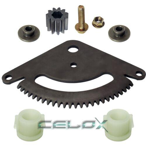 Selective Sector Gear Pinion Gear wBushing Fit John Deere SCOTTS L2048 L2548