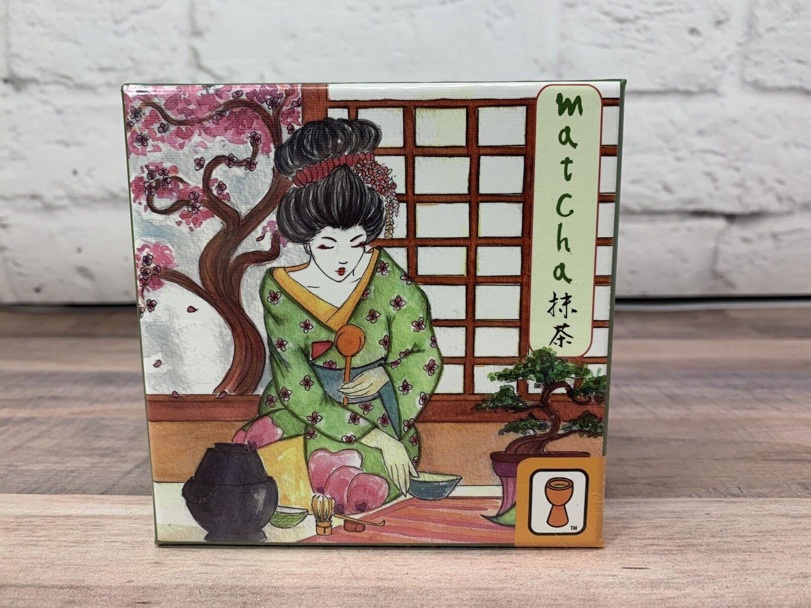 Sellado Matcha-un farol de 2 jugadores Juego de Cartas-out Cartas-out Cartas-out of print-animé japonés  forma única