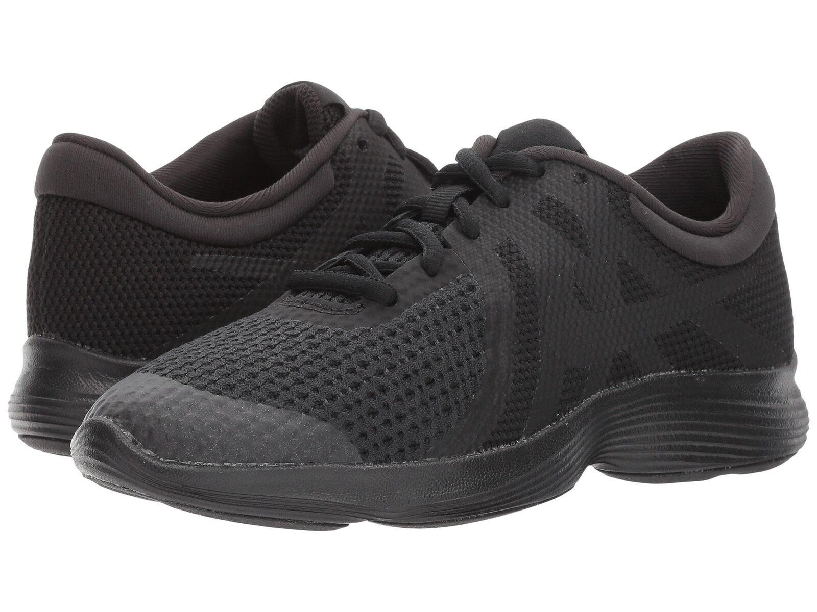 shoes Nike 943309 004 Revolution 4 GS Black junior Mode casual Sneakers Sport