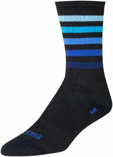 Black//Blue SM//MD SockGuy SGX Deep Sock