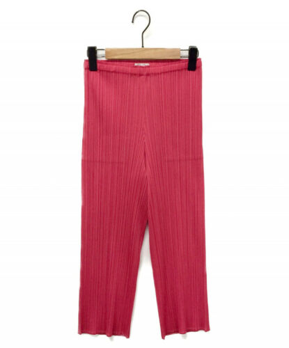 PLEATS PLEASE PLEATS cropped pants pink Size: 2