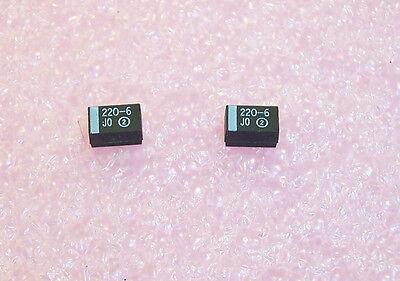 220uf 6.3V 105/' RADIAL HI RIPPLE ELECTROLYTIC 672D227H6R3CG5C SPRAGUE QTY 20