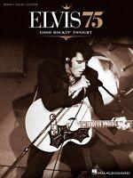 Elvis 75 Good Rockin' Tonight Sheet Music Piano Vocal Guitar Songbook 000307124