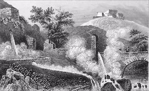 FidèLe AmÉlie-les-bains-palalda: Source Thermale (bains-d'arles,napoléon Iii) - Gravure