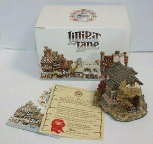 Lilliput Lane Cottage Figure The Briary Deed Brochure Box