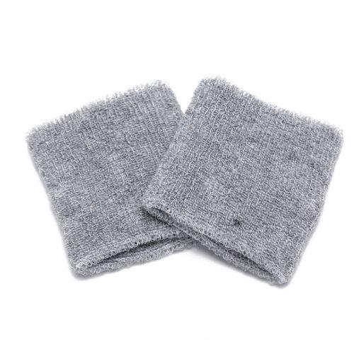 2pcs cotton basketball sport sweatband wristband running badminton sweat band RS