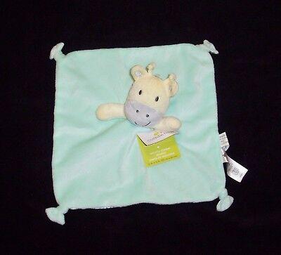 NWT Cuddletime Cuddle Time Blue White Grey Elephant Minky Dot Bumpy Baby Blanket