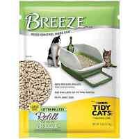 Tidy Cats Litter Cat Litter Breeze Litter Pellet Refill 7pound Refill Pack Of 4