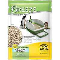 Tidy Cats Litter Cat Litter Breeze Litter Pellet Refill 7pound Refill Pack Of 4