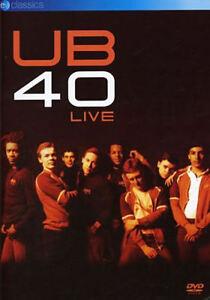 UB40 - Live (DVD, 2006) - New - Cut Barcode