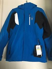 Spyder AGENT Ski JACKET 3M Thinsulate Blue AUTHENTIC Mens Size M NEW With Tags