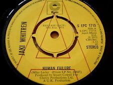 """JAKI WHITREN - HUMAN FAILURE  7"""" VINYL PROMO"""