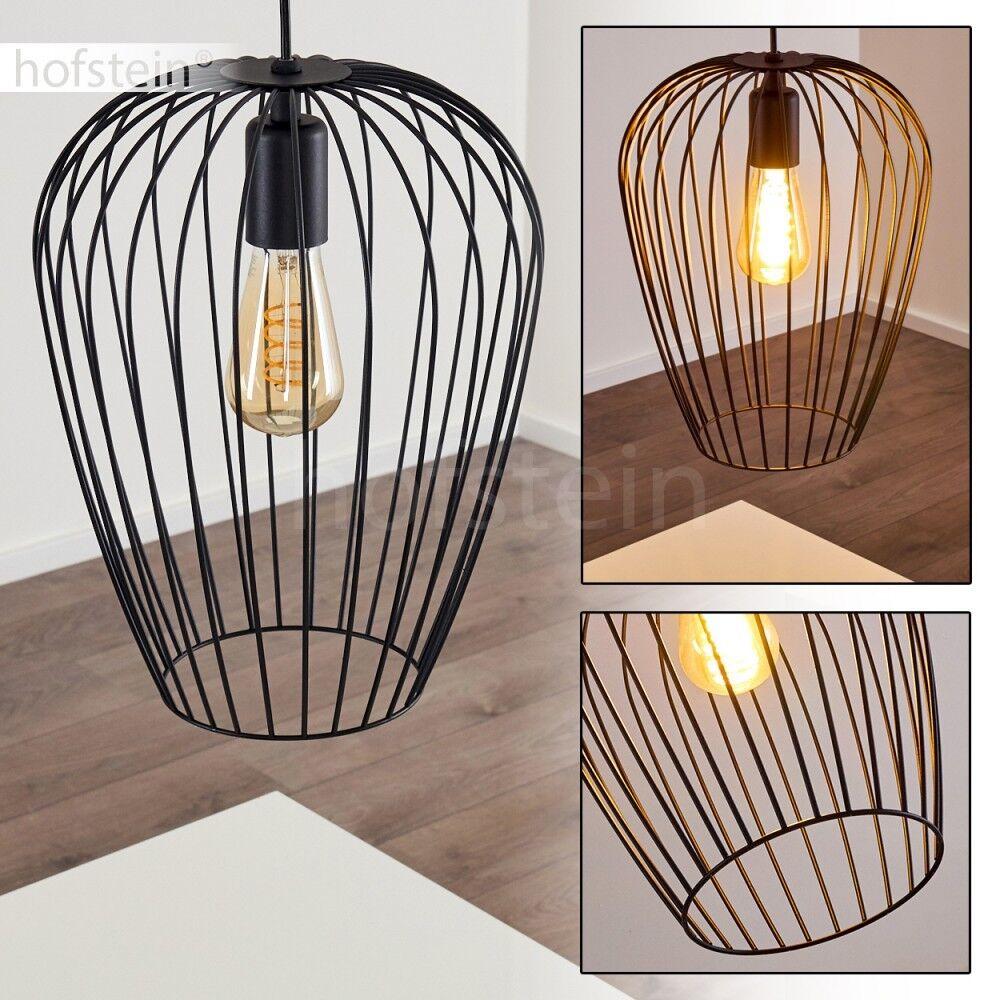 Lampe à suspension Retro Lampe pendante Plafonnier Lustre Lampe de séjour Métal