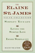 The Elaine St. James Value Collection: Simplify Your Life; Living The Simple Lif