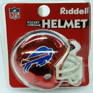ad542b4584210 Image is loading NFL-Buffalo-Bills-Riddell-Pocket-Pro-Helmet-New-