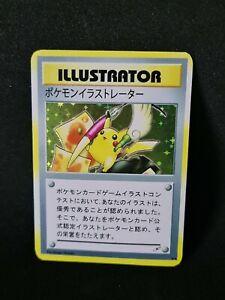 Proxy-PIKACHU-Illustrator-Pokemon-Card-with-holoeffect