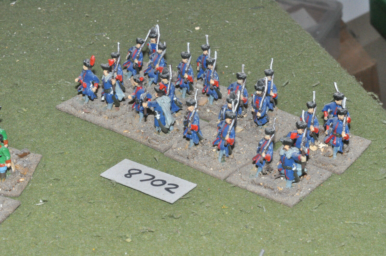 25mm renaissance   polish - 24 infantry metal painted - inf (8702)