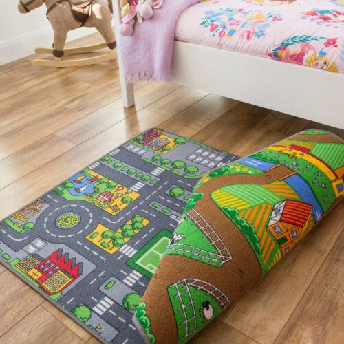 Kids Roads /& Street MatsBoys /& Girls Play MatsFun and Interactive Mats UK