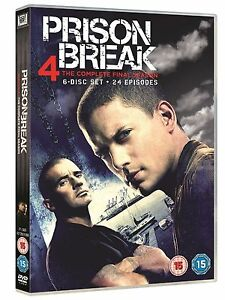 Prison Break Complete Series 4 Dvd 4th Fourth Forth Season Four Original Uk Rele 5039036042673 Ebay