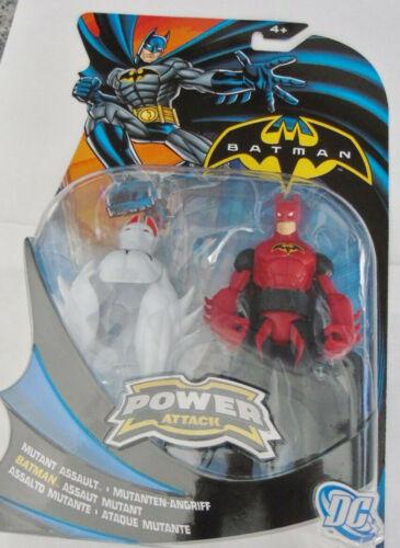 Missione di attacco Mattel Power Figura BATMAN MUTANTE ASSALTO RIDOTTO per cancellare