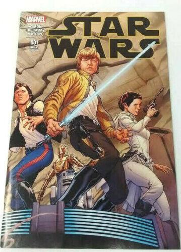 Star Wars #001 Variant Quesada Wrap Cover 2015 1:100 Marvel