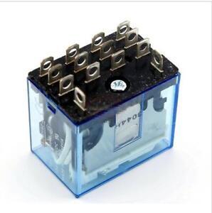 220v//240V AC Coil 4PDT Power Relay MY4NJ HH54P-L 14 Pin w PYF14A Socket Base
